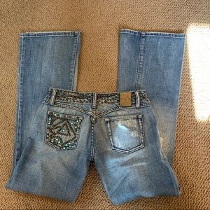 Miss Lola low rise jeans